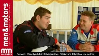 Boyzone's Shane Lynch Rally Driving review -  Bill Gwynne Rallyschool International