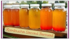 How To Make Fizzy & Flavored KOMBUCHA   Just Like GT's