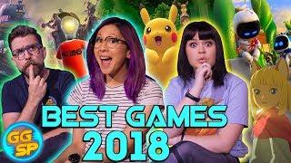 GGSP's Best Games Of 2018