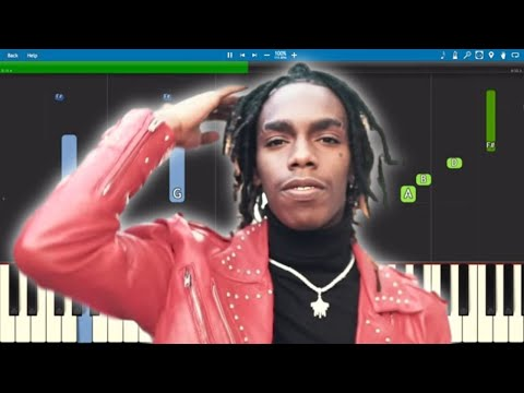 YNW Melly - Dangerously In Love 772 Love Part Two - Piano Tutorial