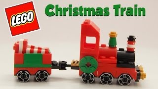 Lego Holiday Christmas Train and Caboose