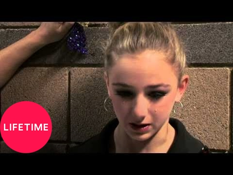Dance Moms: Kelly Comforts Chloe Backstage (S3, E35) | Lifetime: Kelly finds Chloe crying in backstage and comforts her, in this bonus scene from Dance Moms Season 3 Episode 35 (Diva Las Vegas).  Subscribe for more from Dance Moms and other great Lifetime shows: http://www.youtube.com/subscription_center?add_user=lifetime  Enjoy more Dance Moms on YouTube: https://www.youtube.com/playlist?list=PLvAOsBfvt4jBTvv2aABPpf0H4YiMrzDqR  Hang out with the girls outside the studio! Check out exclusive videos from the Dance Moms Slumber Party: https://www.youtube.com/playlist?list=PLvAOsBfvt4jD1TEk7Zm1xaV6KwTz44-T5  Watch all your favorite full dances and more in the playlist: https://www.youtube.com/watch?v=Ky0RzR0_9tc&index=4&list=PLvAOsBfvt4jDrdbldbhu7tFD824n2eQKI  Find out more about the show, the moms, and the dancers on our site: http://www.mylifetime.com/shows/dance-moms?cmpid=Social_YouTube_DanceMoms  Watch full episodes here: http://www.mylifetime.com/shows/dance-moms/video?cmpid=Social_YouTube_DanceMomsVid  Like the official Dance Moms Facebook page: https://www.facebook.com/DanceMomsonLIFETIME?cmpid=Social_YouTube_DanceMomsFB  Join the #DanceMoms conversation on Twitter: https://twitter.com/DanceMoms?cmpid=Social_YouTube_DanceMomsTwitter  Grab great merchandise here: https://www.mylifetimestore.com/  Check out exclusive Lifetime content: Website - http://www.mylifetime.com/?cmpid=Social_YouTube_LifeHome Twitter - https://twitter.com/lifetimetv Facebook - https://www.facebook.com/lifetime Google+ - https://plus.google.com/+Lifetime/posts  Lifetime® is a premier female-focused entertainment destination dedicated to providing viewers with a diverse selection of critically acclaimed and award-winning original movies, scripted dramas, and unscripted programming. A favorite and trusted network for women, we are continually building on our heritage by attracting top Hollywood talent and producing shows that are modern, sexy, exciting, daring, and provocative. Visit us at myLifetime.com for more info.
