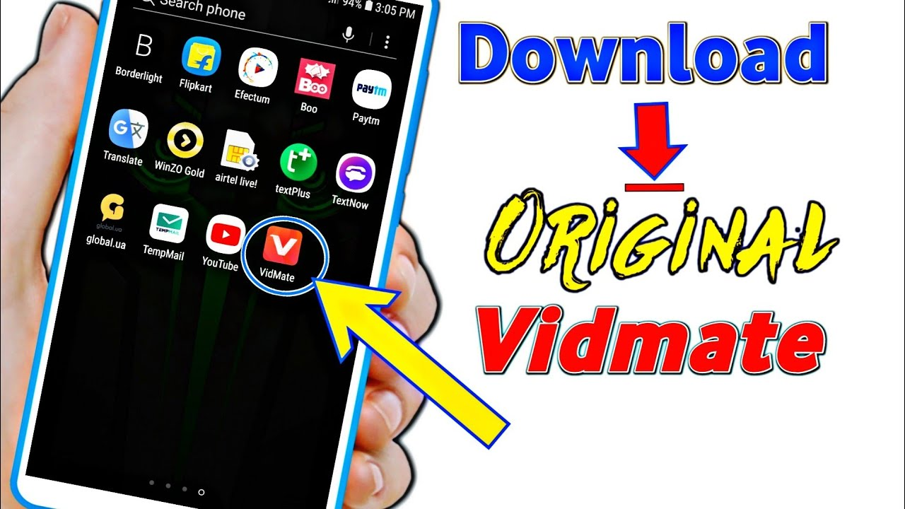 vidmate apk download old version 2018
