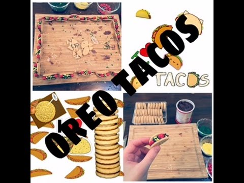 DIY TACO CUPCAKE TOPPERS - YouTube