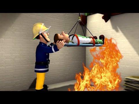 Neue Feuerwehrmann Sam 🌟Im Keller gefangen! 🌟Rettungen mit Sam | Kinderfilm
