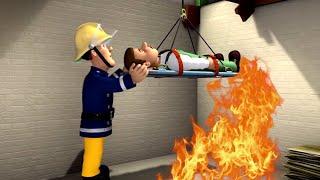 Neue Feuerwehrmann Sam 🌟Im Keller gefangen! 🌟Rettungen mit Sam   Kinderfilm