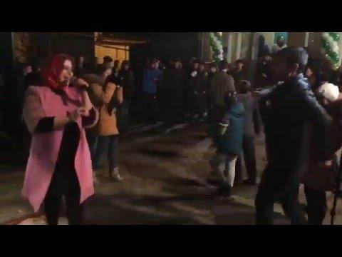 Султан и Патимат Кагирова на свадьбе в КЧР