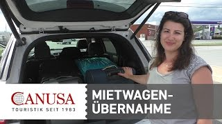CANUSA erklärt: Wie übernehme ich einen Mietwagen in Nordamerika? | CANUSA
