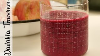 Nar Pancar Smoothie - Pomegranate Beetroot Smoothie
