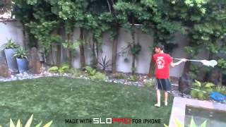 Super Fast Lacrosse Shooting