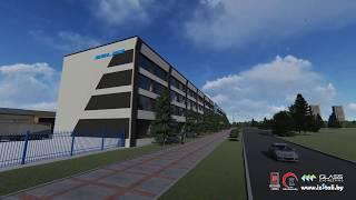 Концепт реконструкции фасада здания БЕЛАЗ дизайн проект