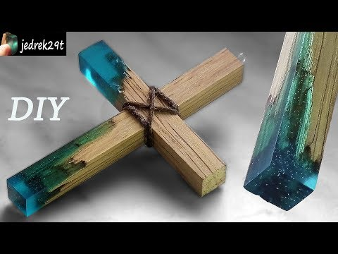 How to make Secret Wood CROSS . DIY.