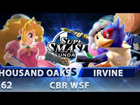 SSS 62 - Thousand Oaks vs. Irvine - SSBM CBR Winners Semis - Smash Melee