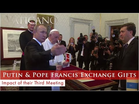 Vaticano - 2019-07-14 - Vladimir Putin at the Vatican & Cardinal Newman to Be a Saint