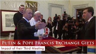 Vaticano - 2019-07-14 - Vladimir Putin at the Vatican & Cardinal Newman to Be a Saint