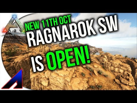 New south West Ragnarok Map is open | ARK: Survival Evolved | Ragnarok showcase Ragnarok south