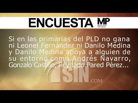 Encuesta Mark Penn: Danilo Medina, favorito en la intención del voto, pero rumbo a segunda vuelta