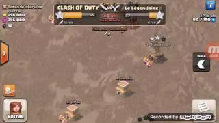 Clash of clans valquiria nvl 1 no clash trolando