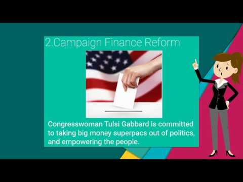Tulsi Gabbard Policies - US House of Representative for Hawaii 2nd District (Part 2)