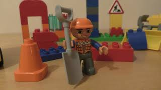 Lego Duplo My First Construction Site 10518 Review Build Instruction