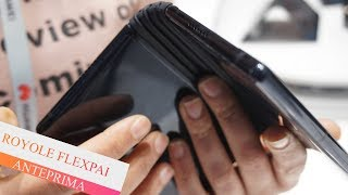 Royole FlexPai: lo smartphone pieghevole al MWC 2019