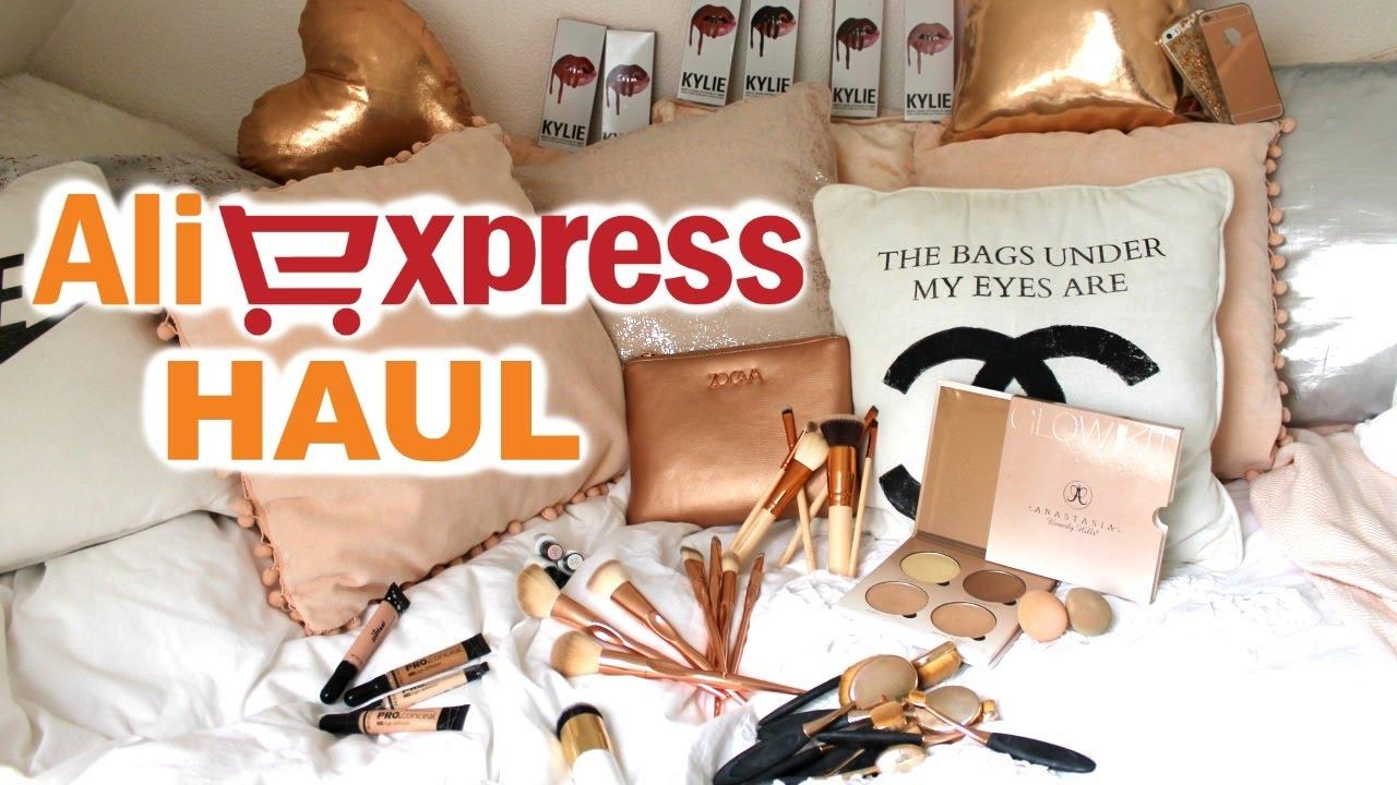 Aliexpress Haul (Kylie Lip Kits, Zoeva, ABH, Rose Gold) | Demiana Acis