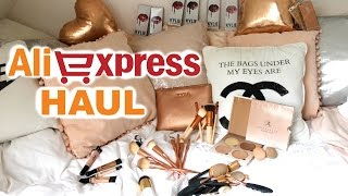 Aliexpress Haul (Kylie Lip Kits, Zoeva, ABH, Rose Gold)   Demiana Acis