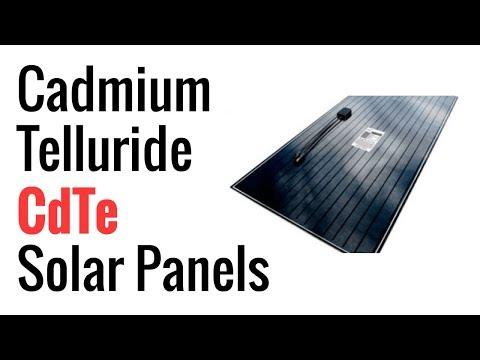 Cadmium Telluride (CdTe) Solar Panels