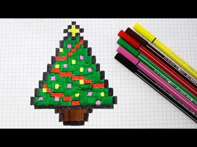 Sapin En Pixel Art Youtube
