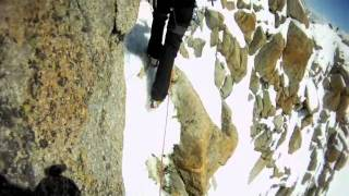Mont Blanc Cosmique Ridge Wayne jackson & Graeme Massey