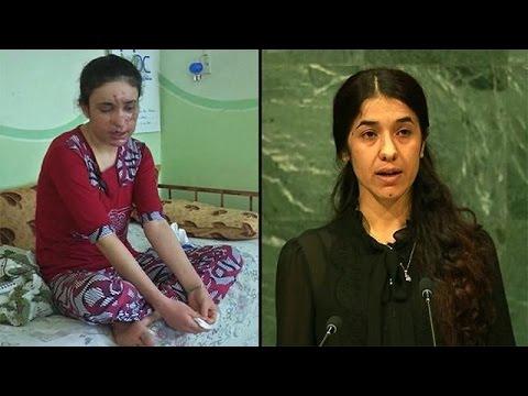Yazidi IS survivors win EU's rights prize