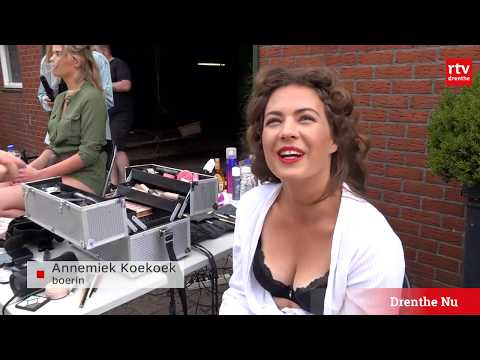 Boerin Annemiek Koekoek staat straks in de boerinnenkalender