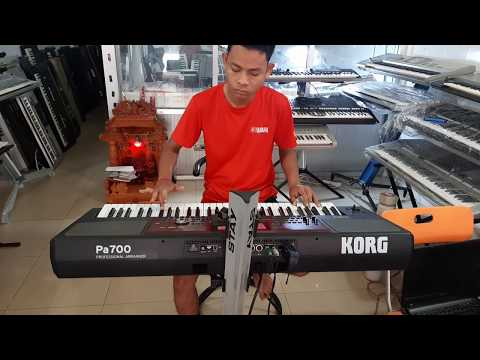 Demo New Sound And Style For Korg Pa700 By