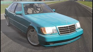 Assetto Corsa - Mercedes-Benz W140 S70 AMG + DOWNLOAD