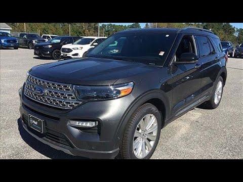 New 2020 Ford Explorer Elizabeth City, NC #8209001
