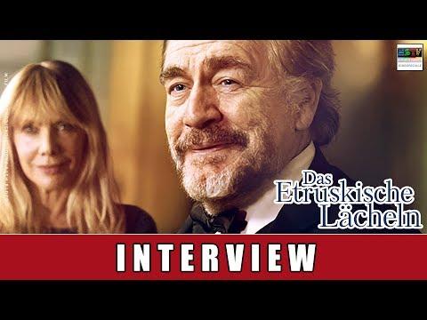 Das Etruskische Lächeln - Interview | Brian Cox | Rosanna Arquette