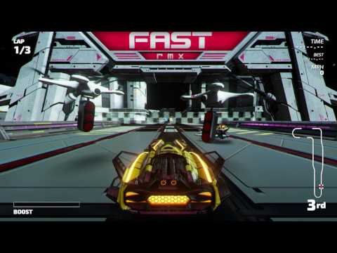 Fast RMX - Championship Mode - Chromium Cup (Subsonic)
