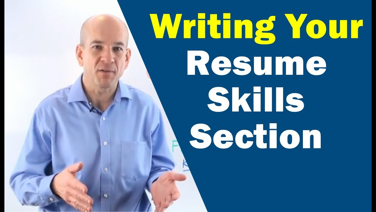 Writing Your Skills Summary Section On Your Resume