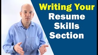 Resume Builder Step 3: Writing Your Skills Summary