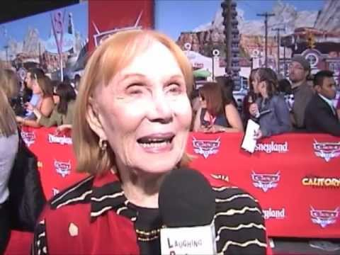 Katherine Helmond, voice of Lizzie at the Cars Land Grand  at DCA