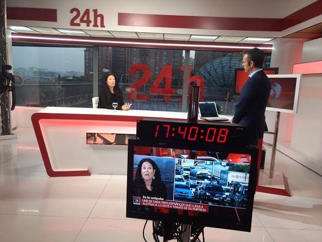 Nos entrevistan en RTVE - Making Of