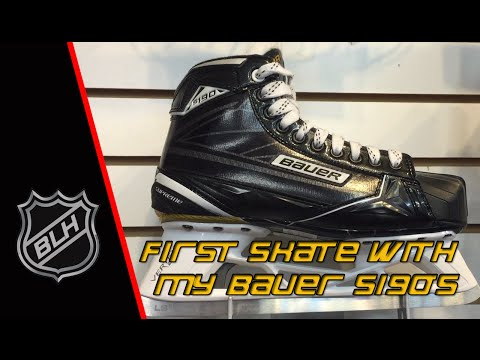 First road test of my new Bauer S190's #S1 EP44