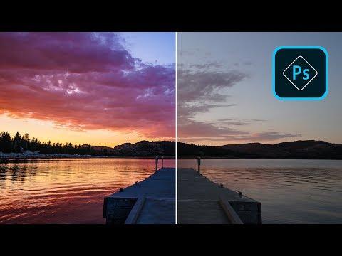 Как быстро обработать фото на телефоне при помощи Photoshop Express