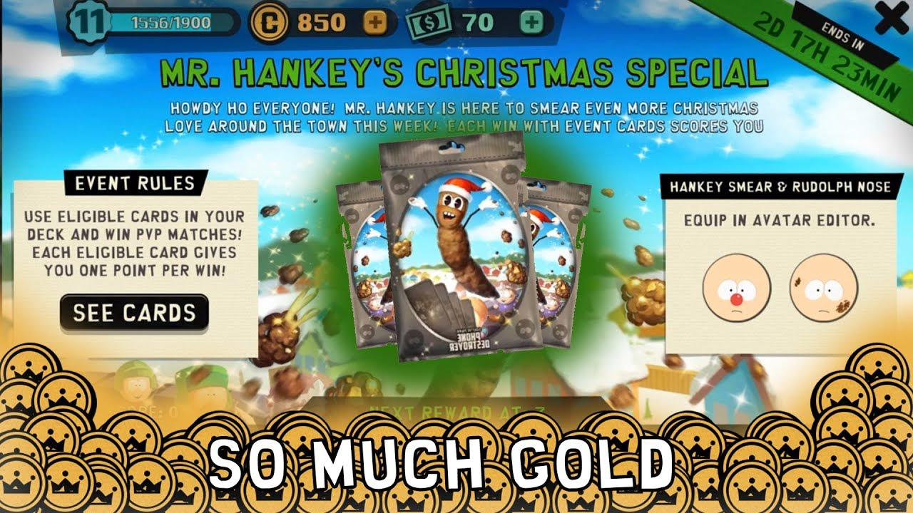 MORE MR HANKEY PACK OPENING! (South Park Phone Destroyer) - YouTube