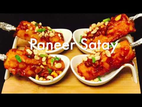 The Bakasura: How To Make Restaurant Style Paneer Satay  Paneer Tikka Manchurian recipe | Bakasura