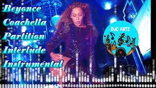Beyonce Coachella Partition Live Filtered Instrumental & Interlude with Backing Vocals