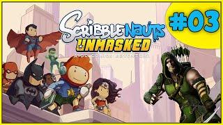 Scribblenauts Unmasked DC Comics! #03 - ARQUEIRO VERDE FRACOTE!