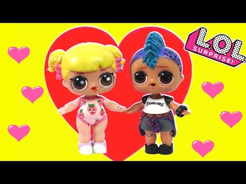 LOL Baby Goldie & Punk Boy Love Story & Adventures - LOL Barbie Family Stories