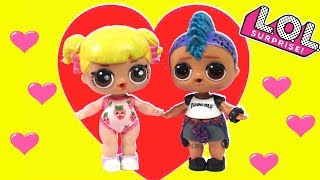 LOL Baby Goldie & Punk Boy Love Story & Adventures  LOL Barbie Family Stories