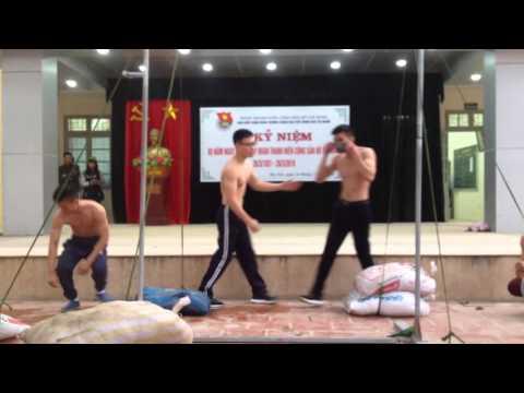 Thể thao cơ bắp đường phố phiên bản học sinh-THPT Ngô Thì Nhậm